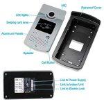 LIBO 7 Pouces Filaire Couleur vidéo Porte téléphone interphone système vidéo Sonnette intérieure Moniteur caméra avec 25 Sonnerie pour Appartement sûr de la marque LIBO Smart Home image 2 produit