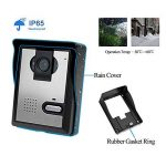 LIBO Filaire Maison vidéo interphone Sonnette 4.3inch Vision Nocturne Infrarouge 25 sonneries IP54 étanche pour système d'entrée de Porte de la marque LIBO Smart Home image 3 produit