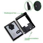 LIBO Filaire Maison vidéo interphone Sonnette 4.3inch Vision Nocturne Infrarouge 25 sonneries IP54 étanche pour système d'entrée de Porte de la marque LIBO Smart Home image 2 produit