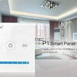 LIGHTEU, Contrôleur Smart Panel P1, Milight Original®, Contrôleur de l'écran tactile, blanc en verre, DC12V 24V, Contrôleur de variation de luminosité à 2 canaux pour bandes de LED de la marque LIGHTEU image 3 produit