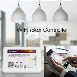 LIGHTEU, WIFI iBox Contrôleur, 2,4GHz, IBox2 Nouvelle version, Dimmer sans fil pour lampe LED Mi-light Série RGBW WW/CW RGB+CCT, gradateur récepteur, (Contrôleur RGBW WW/CW RGB+CCT) [Classe énergétique A] de la marque LIGHTEU image 2 produit