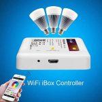 LIGHTEU, WIFI iBox Contrôleur, 2,4GHz, IBox2 Nouvelle version, Dimmer sans fil pour lampe LED Mi-light Série RGBW WW/CW RGB+CCT, gradateur récepteur, (Contrôleur RGBW WW/CW RGB+CCT) [Classe énergétique A] de la marque LIGHTEU image 3 produit
