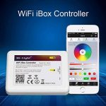 LIGHTEU, WIFI iBox Contrôleur, 2,4GHz, IBox2 Nouvelle version, Dimmer sans fil pour lampe LED Mi-light Série RGBW WW/CW RGB+CCT, gradateur récepteur, (Contrôleur RGBW WW/CW RGB+CCT) [Classe énergétique A] de la marque LIGHTEU image 4 produit