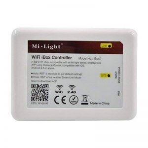 LIGHTEU, WIFI iBox Contrôleur, 2,4GHz, IBox2 Nouvelle version, Dimmer sans fil pour lampe LED Mi-light Série RGBW WW/CW RGB+CCT, gradateur récepteur, (Contrôleur RGBW WW/CW RGB+CCT) [Classe énergétique A] de la marque LIGHTEU image 0 produit