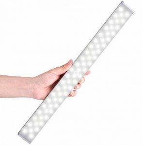 LOFTER Lampe Placard Détecteur Mouvement Lampe Placard Stable et Doux Sans Fil et Rechargeable avec 4 Modes d'Éclairage Blanc Froid - 62 LED de la marque LOFTer image 0 produit