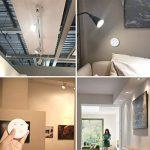 LoraTap Lot de 4 Ampoule Connectée GU10 Spot LED Dimmable, Avec Variateur Sans Fil, Portée 200M, Blanc Chaud, Avec Télécommande, Lumière pour Salon Couloir, Lampe Ambiance, Wireless Dimming Kit, Lampe Chevet de la marque LoraTap image 1 produit