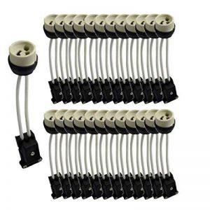 Lot de 25 Douilles GU10 céramique avec domino connecteur - norme CE de la marque Vision-EL image 0 produit
