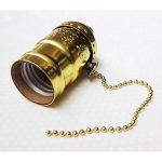 Lot de 3 douilles Gold de type E27 vintage avec interrupteur à chaînette de la marque Desineo image 3 produit