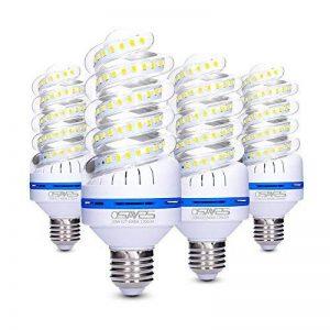 Lot de 4 Ampoules LED 12W E27, équivalent à ampoule incandescente de 100W, Blanc Froid 6000K, 1080lm, 360° Faisceau, Culot E27, 230V LED Lampe, Non-dimmable Ampoule de la marque OSAYES image 0 produit