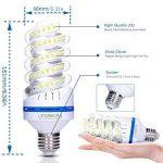Lot de 4 Ampoules LED 12W E27, équivalent à ampoule incandescente de 100W, Blanc Froid 6000K, 1080lm, 360° Faisceau, Culot E27, 230V LED Lampe, Non-dimmable Ampoule de la marque OSAYES image 2 produit