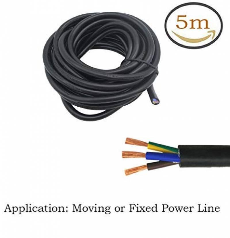 Set 2 coleurs /à 10m AUPROTEC C/âble unipolaire 0,5 mm/² FLRY-B Fil /Électrique en anneau