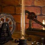Luminaire Industriel Rétro Edison Lampe de Table E27 Douille en Métal Antique Lampe de Nuit Ambiance Décorative pour Restaurant Café Bars Atelier Salon Chambre - Noir ( Sans Ampoule ) de la marque image 1 produit