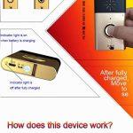 MagiDeal 200m Sonnerie sans Fil Carillon avec Interphone 1/2 Transmetteur + 1/2/3 Récepteur Système de Sécurité - 2 émetteurs + 1 récepteur de la marque MagiDeal image 1 produit