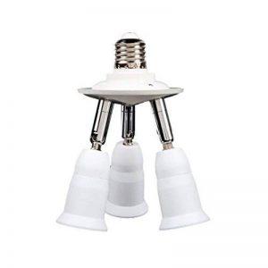 MagiDeal 3 En 1 Réglable Base E27 Lampe Lumière Prise Support Adaptateur d'Ampoule Splitter de la marque MagiDeal image 0 produit