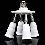 MagiDeal 4 En 1 Réglable Base E27 Lampe Lumière Prise Support Adaptateur d'Ampoule Splitter de la marque MagiDeal image 4 produit