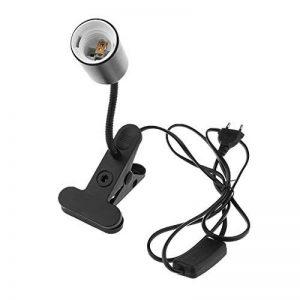 MagiDeal Feu de Chauffage en Céramique Porte-lampe UVA UVB Ampoule E27 Reptile EU Plug Noir de la marque MagiDeal image 0 produit