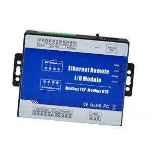 MagiDeal Modbus Tcp Ethernet Module Distant Io d'E/S Distantes Modbus - 4di + rj45 + rs485, m210t de la marque Générique image 0 produit
