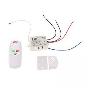 MagiDeal ON/OFF 1-canal Interrupteur de Lumière sans Fil Numérique avec Télécommande 220V-240V de la marque MagiDeal image 0 produit