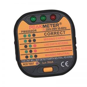 MagiDeal Testeur de Prise Automatique Test de Fil de Terre RCD de la marque MagiDeal image 0 produit