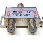 Maincore F-Type Vis connecteur Câble Répartiteur pour TV, TNT, Ciel/SkyHD, NTL, Virgin, antenne Satellite, Prises de Courant/Coaxial/5–2,45Ghz (Disponible en 2Voies, 3Voies, 4Voies) de la marque MainCore image 2 produit