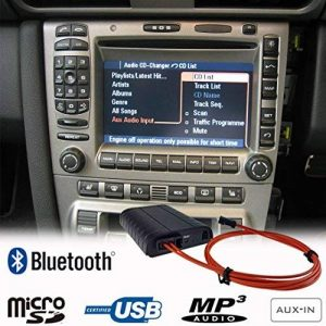 mains libres Bluetooth A2DP USB SD AUX adaptateur pour Porsche 911997Boxster Cayman Cayenne Pcm2.0/2.1Cdr23/24Kit voiture de la marque MR12V image 0 produit
