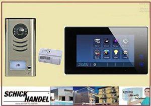 Maison individuelle AP Interphone dt591+ t47m Interphone vidéo 1interphones Moniteur mémoire interphones Écran Noir de la marque Schick-Handel ® image 0 produit
