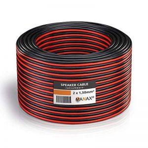 Manax Câble 2 x 0,75 mm² - N°67728 de la marque MANAX image 0 produit