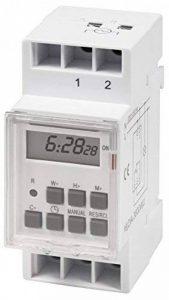 McPower Prise programmable numérique STE-3,7jours, pour montage dans le tableau électrique, 230V 3600W de la marque mcpower image 0 produit