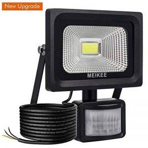 MEIKEE Projecteur LED détecteur de mouvement, 10W 1000LM eclairage exterieur led avec detecteur IP66 Eclairage de sécurité idéal pour éclairage public, garage, couloir, jardin, etc de la marque MEIKEE image 0 produit