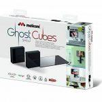 Meliconi Ghost Cubes Shelf Noir Cache câble modulaire avec étagère Noir de la marque Meliconi image 4 produit