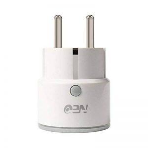 Mengonee Neo Coolcam NAS-WR01W EU Plug Smart Wireless WiFi 2,4 GHz Plug-Socket Smartphone Télécommande pour Alexa de la marque Mengonee image 0 produit
