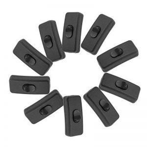 Merssavo 10 pieces Interrupteur à bascule Noir pour Lampe de la marque Merssavo image 0 produit