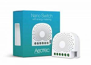 Micromodule commutateur Z-Wave+ Nano Switch avec consomètre - Aeon Labs de la marque AEON image 0 produit