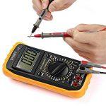Micsoa 8 Pièces de Cordons de test au Multimètre Électrique avec kit de, Sondes de Test Professionnel à pinces Crocodile Banane à mini-grabber de la marque Micsoa image 4 produit