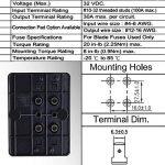 Mictuning 32V 100A Boîte Porte à Fusible 6 Places pour Voiture Auto de la marque Mictuning image 3 produit