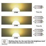 Minger Ampoule LED 3-Ambiance 10W 6000K / 4000K / 2700K, Lumière Eclairage Idéal pour Intérieur ou Extérieur, Cuisine, Salle de bains, Chambre(équivalent 80W, 900 lumens,E26 / E27, 2Pièce) de la marque Minger image 3 produit