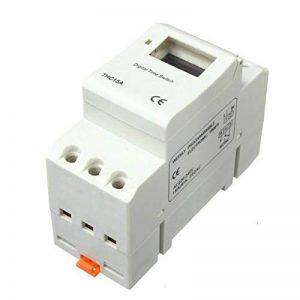 Minuterie Programmable numerique - SODIAL(R)DIN Rail Digital LCD puissance minuterie Programmable AC 220V 16 a temps relais commutateur de la marque SODIAL(R) image 0 produit