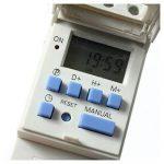 Minuterie Programmable numerique - TOOGOO(R)DIN Rail Digital LCD puissance minuterie Programmable AC 220V 16 a temps relais commutateur de la marque TOOGOO(R) image 1 produit