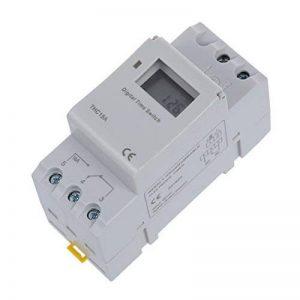 Minuterie programmable - TOOGOO(R)DIN Rail temps relais commutateur numerique LCD puissance minuterie Programmable DC 12V 16 a de la marque TOOGOO(R) image 0 produit