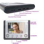 Mountainone 17,8cm vidéo Porte Téléphone Sonnette interphone kit 1-camera 2-monitor Vision de nuit de la marque MOUNTAINONE image 1 produit