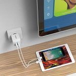 MOXOM Chargeur Secteur USB 2 Ports 5V 2.4A Prise Secteur Adaptateur Universel pour iPhone, Samsung, Nexus, HTC et Autres Téléphones Intelligents et Les Câbles Micro de la marque MOXOM image 1 produit