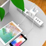 MOXOM Chargeur Secteur USB 2 Ports 5V 2.4A Prise Secteur Adaptateur Universel pour iPhone, Samsung, Nexus, HTC et Autres Téléphones Intelligents et Les Câbles Micro de la marque MOXOM image 3 produit
