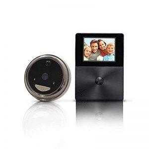 Mr Intelligence Smart Video Sonnette Carillon de porte sans fil WiFi pour système de sécurité (argenté) de la marque Mr Intelligence image 0 produit