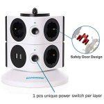 multiprise électrique design TOP 5 image 3 produit