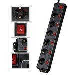 multiprise multi interrupteurs TOP 6 image 4 produit