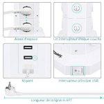 multiprise usb électrique TOP 7 image 3 produit