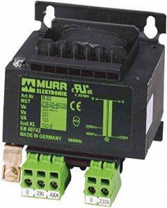 Murr Elektronik Transformateur 86327sécurité de contrôle monophasés monophasés Transformateur 4048879078603 de la marque MURR ELEKTRONIK image 0 produit