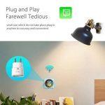 Neo NAS-WR01W WiFi sans Fil Smart Mini WiFi Plug et Socket Commutateur Fonctionne avec Echo Alexa Google Accueil Télécommande UE de la marque Lanspo image 3 produit