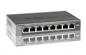 NETGEAR GS108E-300PES Smart Switch Web Manageable 8ports Gigabit NETGEAR GS108Ev3 | Protection à Vie ProSafe de la marque Netgear image 0 produit