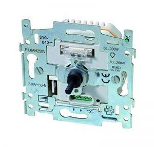 Niko 790872201 Socle pour variateur à bouton rotatif 300 W de la marque NIKO image 0 produit